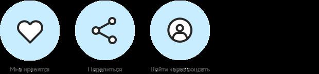 Взаимодействие сайта с пользователями посредством социальных сетей 1